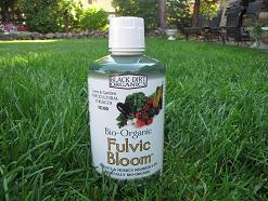 bottle of fulvic bloom